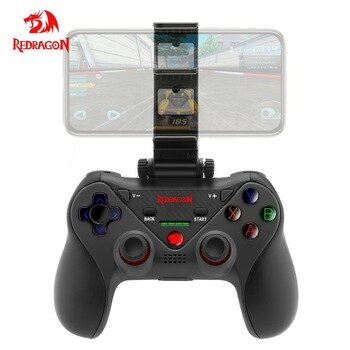 Redragon G812 Wireless Gamepad Bluetooth Gaming Controller Joystick for PC android phone TV box Switch Play Station 4 PS4 ISO