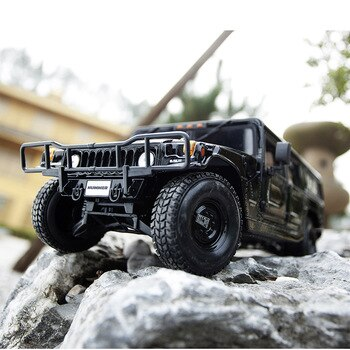 Maisto 1:18 Hummer off-road vehicle model car h1 simulation car alloy car model off-road vehiclel collection gift toy