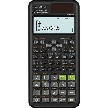 Casio fx-991ES PLUS 2 Scientific Calculator with 417 Functions and Display, Natural