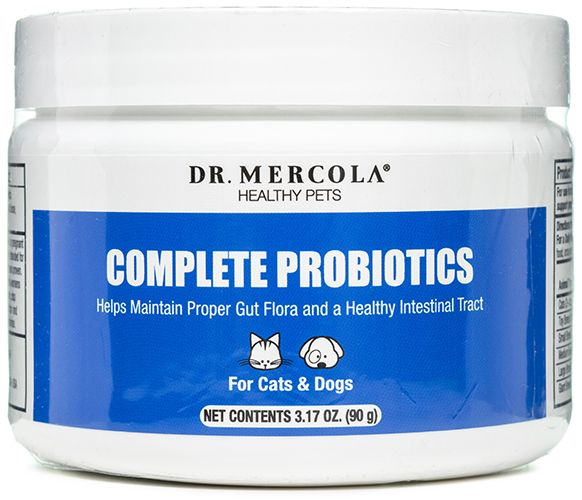 Complete Probiotics for Cats and Dogs 90 grams by Dr. Mercola