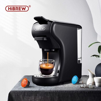 HiBREW expresso coffee machine capsule espresso machine, pod coffee maker Dolce gusto nespresso powder multiple capsule H001