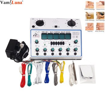 Acupuncture Stimulator Device is a New Acu-device, no needles, 6 channel pain killer - Replacement of hand massage Body Health