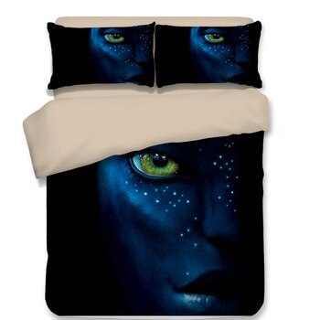 New Fashion good quality movie 3D print Bedding set Avatar friends presents/gifts Duvet cover set Pillowcases Home Textiles