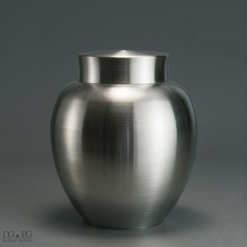 Pure Tin Ashes Urn For Loved Ones Funeral Cremation Memorial Double Cover Seal Urn Bury Or Display At Home