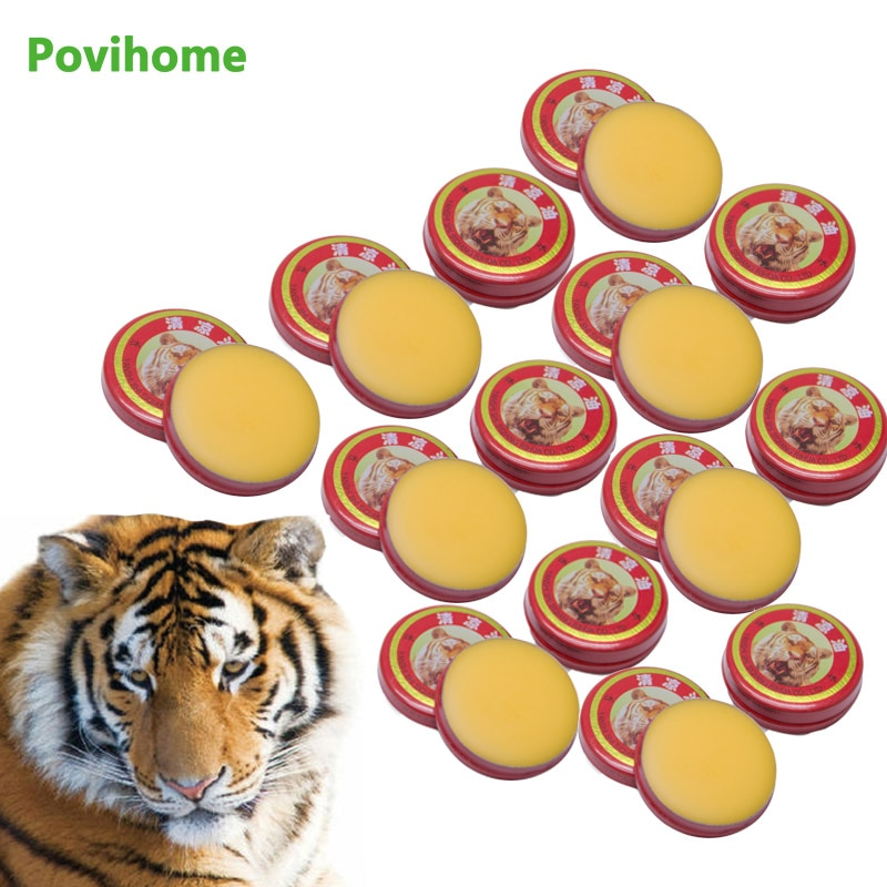 1/5/10pcs 3g Red Tiger Balm Ointment Muscle Back Neck Headache Pain Relief Cool Cream