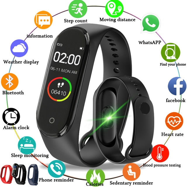 2021 Smart Watch Bluetooth Men Women's Smartwatch Blood Pressure Heart Rate Monitor Fitness Bracelet For iPhone Xiaomi Android