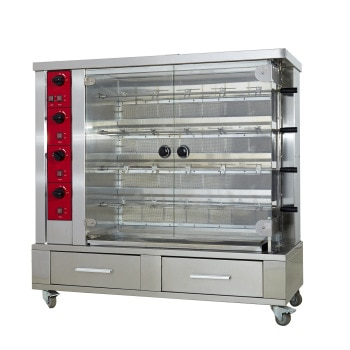 Best quality Commercial Electric | Gas duck roaster Chicken furnace Oven roasted beef jerky
