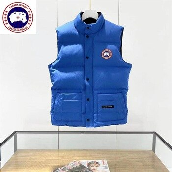 CANADA GOOSE Mystique Men Vest Freestyle Gilet Winter Jacket Men Fashion Thick Warm Parkas Down Coats Casual Waterproof m