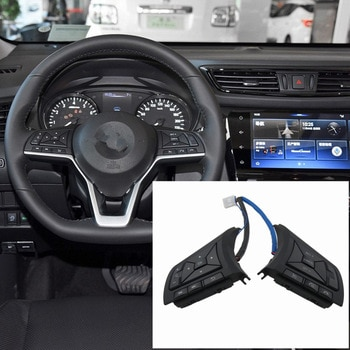 Cruise Control Volume channel Remote Steering Wheel Control For Nissan March Qashqai 2017 Serena Note Navara 2018