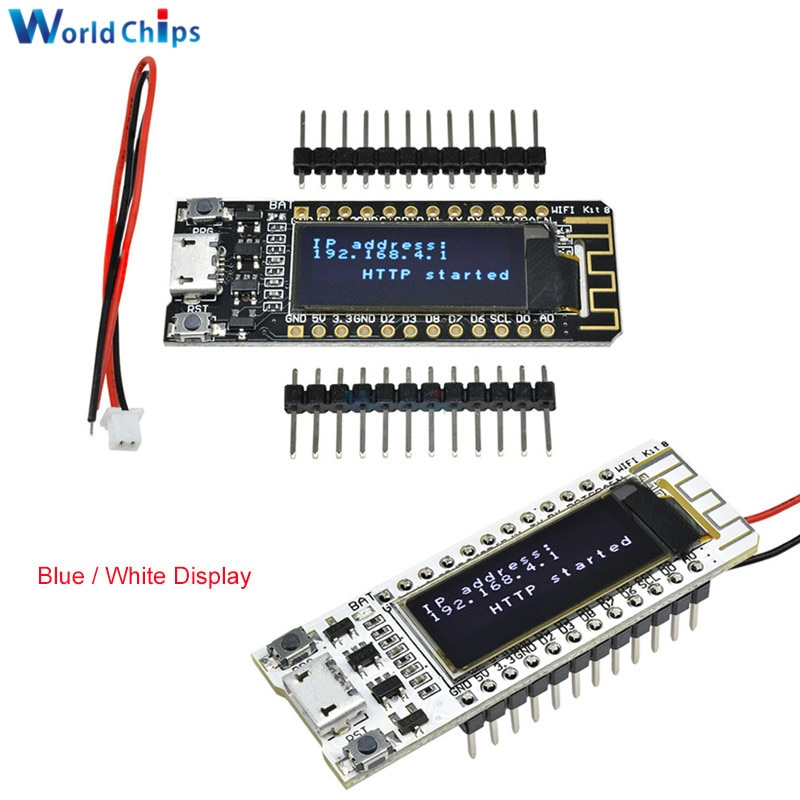 ESP8266 WIFI Chip 0.91 inch OLED CP2014 32Mb Flash ESP 8266 Module Internet of things Board PCB for NodeMcu for Arduino IOT