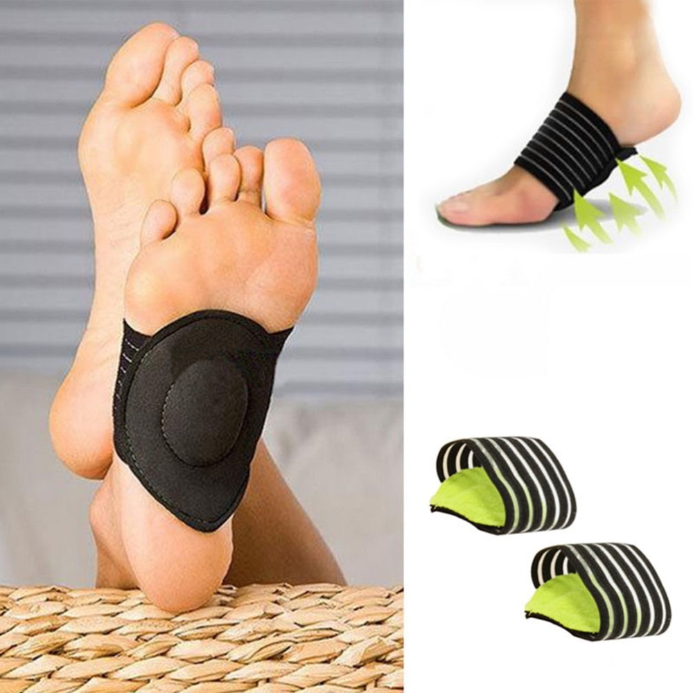 Feet Heel Pain Relief Plantar Fasciitis Insole Run-up Pad Feet Sole Care Cushioned Shoes Insert 1 Pair Foot Arch Support Insoles