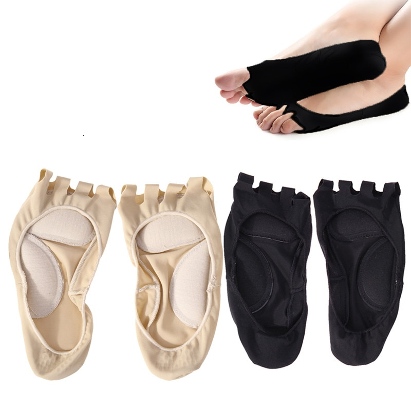 Five Toe Plantar Fasciitis Arch Support Insole Pedicure Socks Invisible Open Toe Socks Pain Relief Orthopedic Flatfoot Foot Care