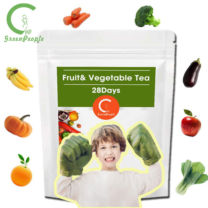 GPGP Nature Vegetable and fruit tea Help digestion Relieving Anorexia Carrot /Vitamin Supplement For Teens/Children