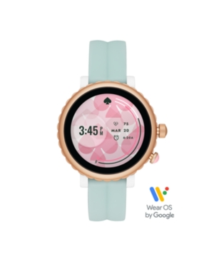 kate spade new york Sport Mint Silicone Touchscreen Smartwatch, 42MM