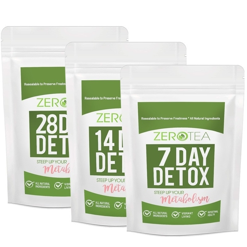 7/14/28 Day Natural Weight Loss Detox Products Teatox for Men and Women to Reduce Bloating and Constipation Natural Body Cleanse
