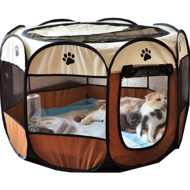 Portable perros House Large Small Dogs Outdoor Dog Cage для собак Houses For Foldable Indoor Playpen Puppy Cats Pet Dog Bed Tent