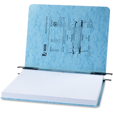 """Wholesale Data Binders: Discounts on ACCO PRESSTEX Hanging Report Covers, Letter Size Sheets, 2"""" Capacity, Light Blue ACC35072"""
