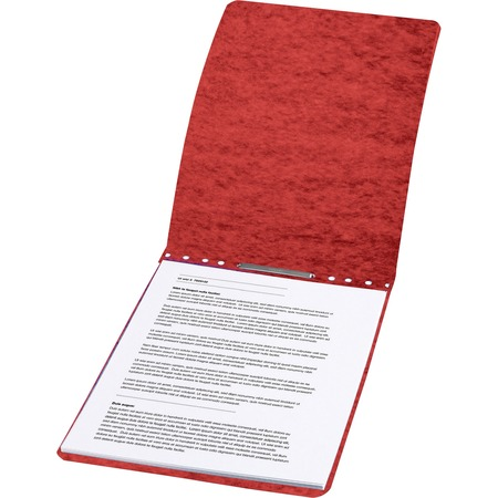 """Wholesale Report Covers: Discounts on ACCO PRESSTEX Report Covers, Top Binding for Letter Size Sheets, 3"""" Capacity, Red ACC17048"""
